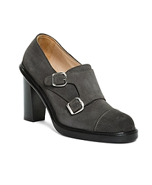 DOUBLE MONK STRAP BOOTIE