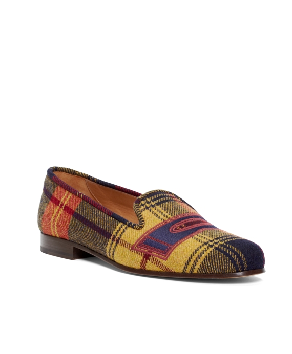 GOLD TARTAN SLIPPER Gold