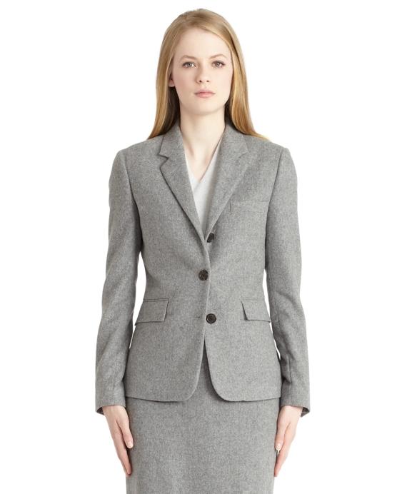 Cashmere Classic Jacket Grey
