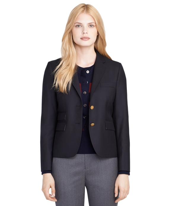 Wool Jacket Navy