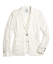 Silk Patch Pocket Jacket