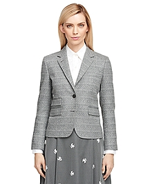 Wool Diamond Jacket