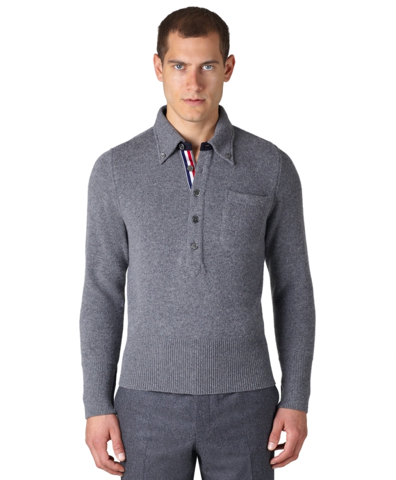 Polo Sweater Charcoal