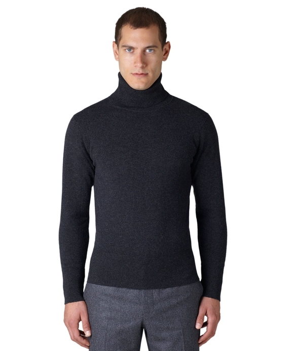 Cashmere Turtleneck Charcoal