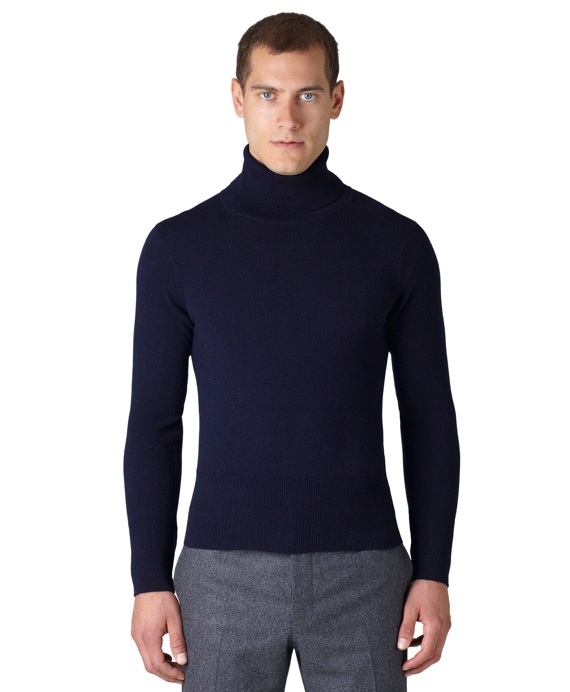 Cashmere Turtleneck Navy