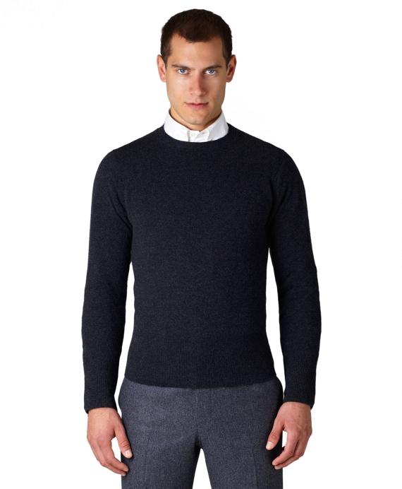 Cashmere Crewneck Sweater Charcoal