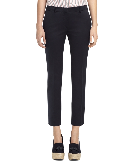 CROPPED PANTS Navy