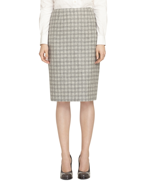 Pencil Skirt Grey