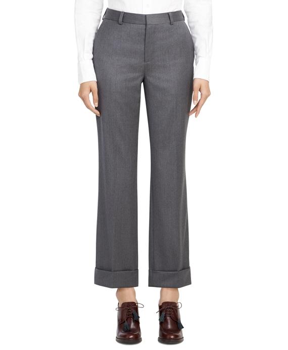 Belt Loop Trousers Grey