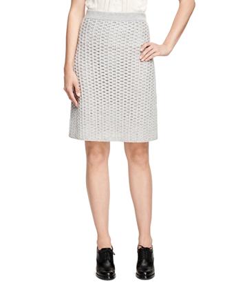 Cashmere A-Line Skirt