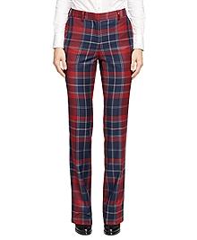 Wool Tartan Trousers