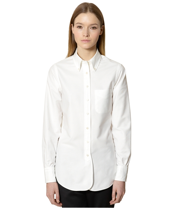 Oxford Button-Down Shirt White