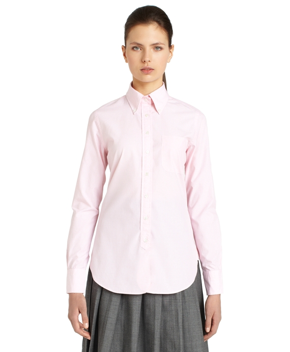 End-on-End Button-Down Shirt Light Pink