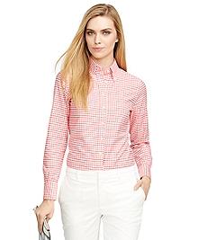 Supima® Cotton Gingham Shirt