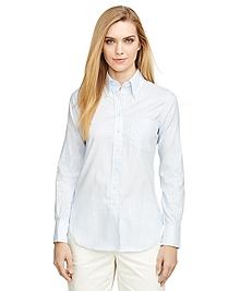 Chambray Stripe Shirt