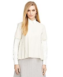 Cotton Seersucker Shirt