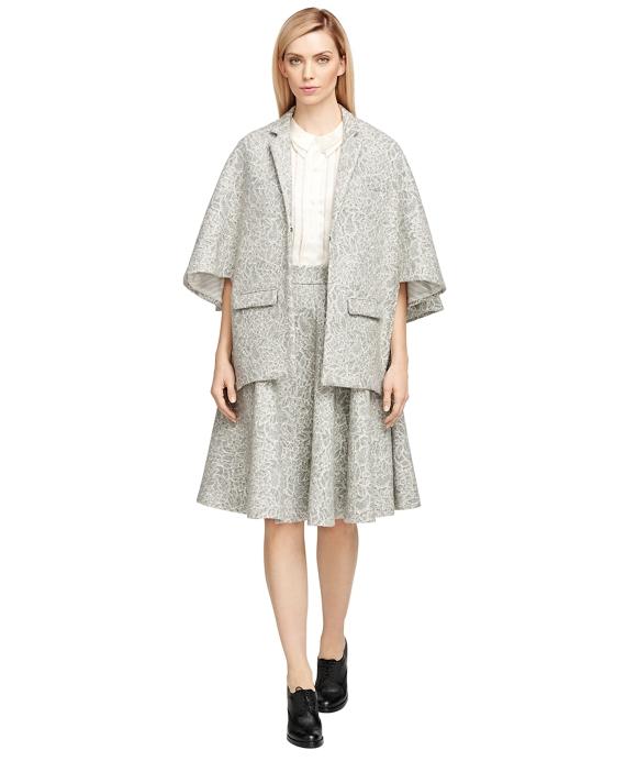 Wool Cape Grey