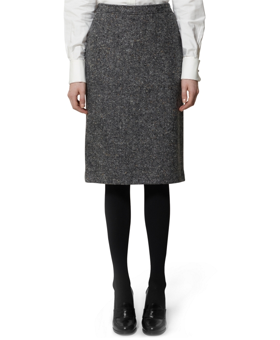 Donegal Wrap Front Skirt Grey
