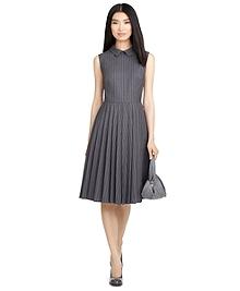 Double-Pleat Dress