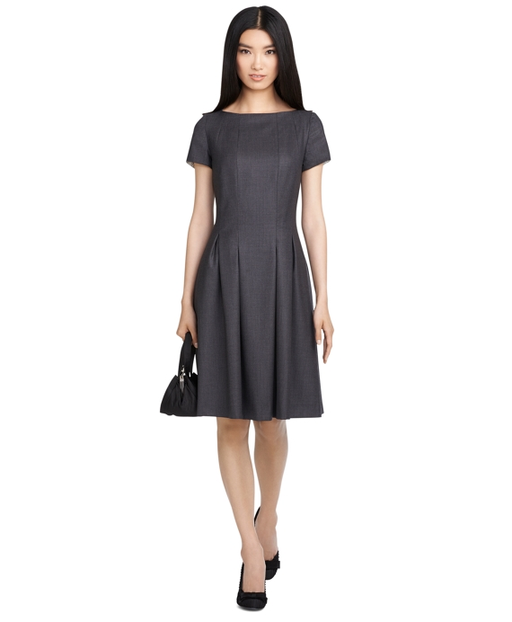 Wool Dress Grey