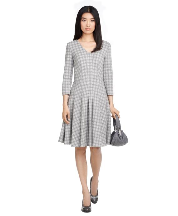 Wool Dress Grey
