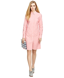 Supima® Cotton Shirt Dress