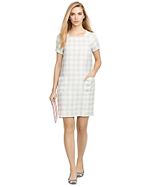 Gingham Patch Pocket Dress