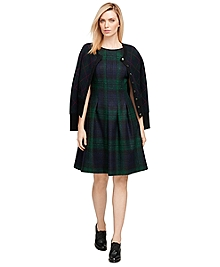 Wool Plaid Dress