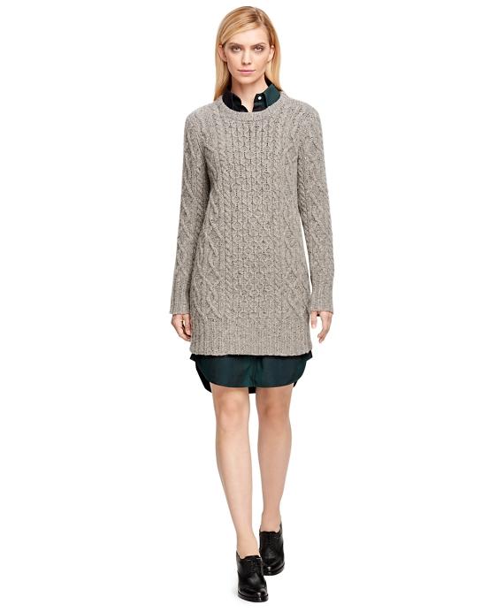Merino Wool Oversized Sweater Grey