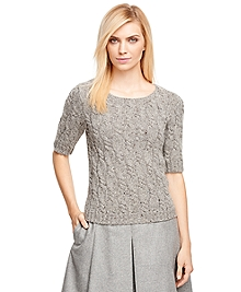 Merino Wool Cable Sweater