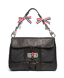 Gunmetal Chain Handbag