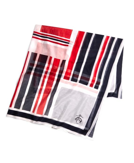 Navy-Red-White