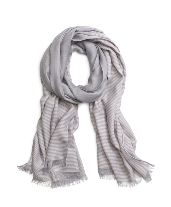 Cashmere Scarf Grey-Pink