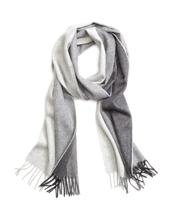 Multistripe Scarf Grey Multi