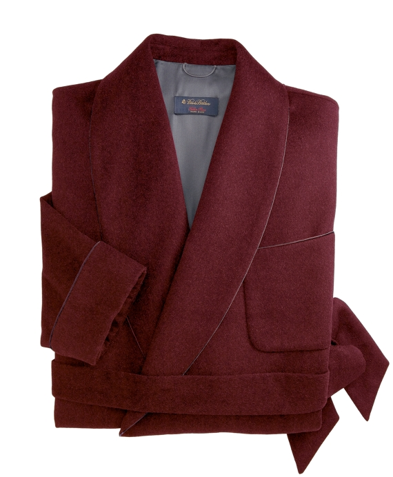 Golden Fleece® Cashmere Robe Burgundy
