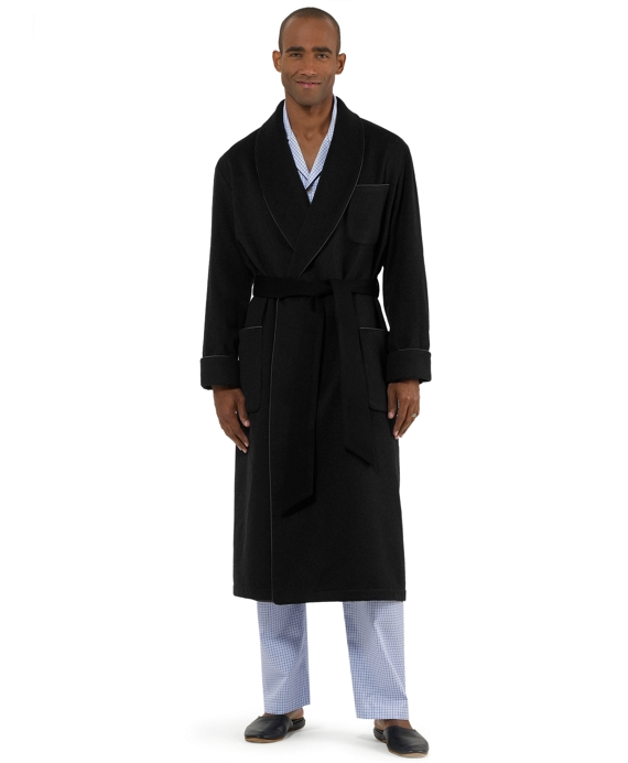 Golden Fleece® Cashmere Robe Black