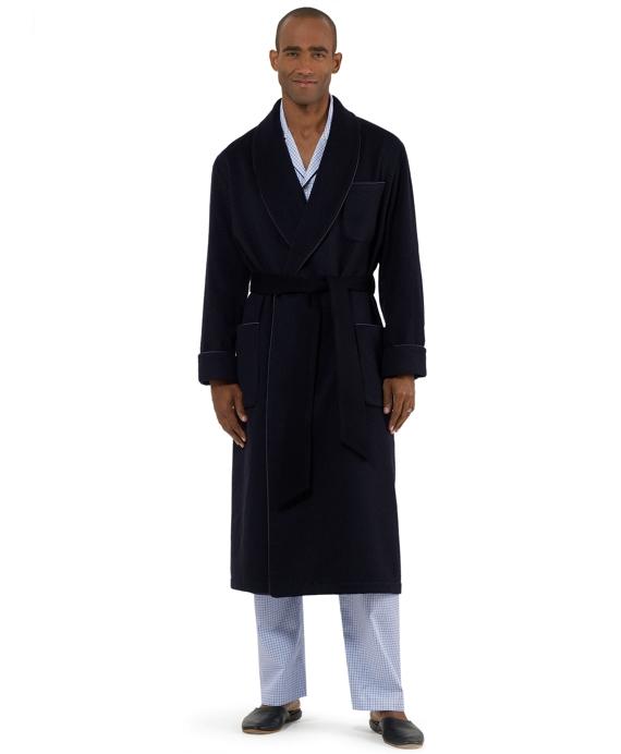 Golden Fleece® Cashmere Robe Navy