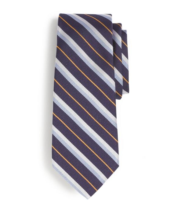 Stripe Tie Navy
