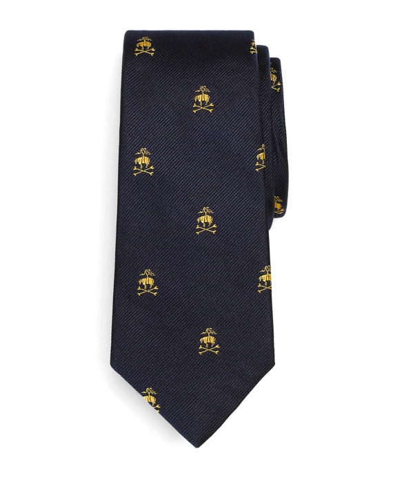 Golden Fleece®® Crossbones Tie Navy