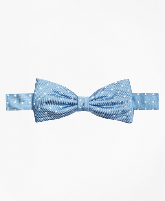 Dot Pre-Tied Bow Tie Blue
