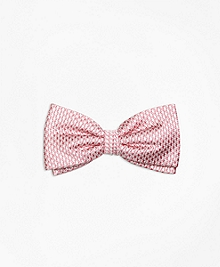 Mini Houndstooth Pre-Tied Bow Tie