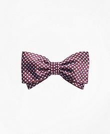 Box Dot Pre-Tied Bow Tie