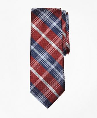 Novelty Plaid Silk Tie