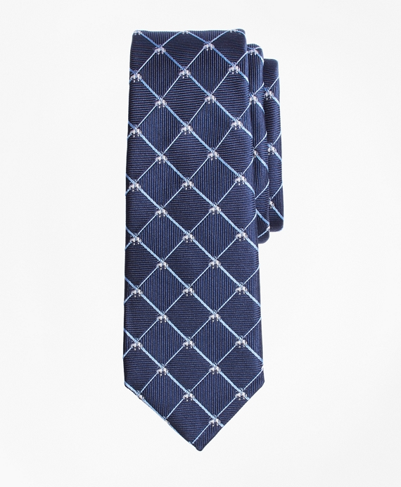Golden Fleece® Windowpane Tie Navy