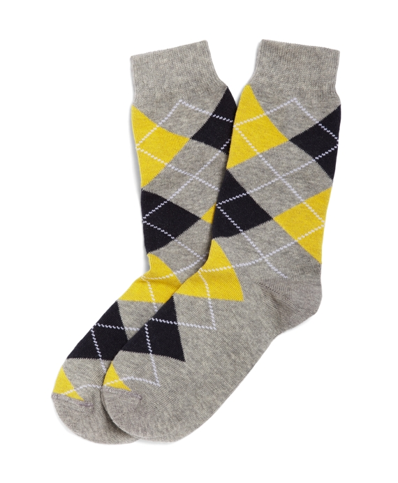 Argyle Socks Grey