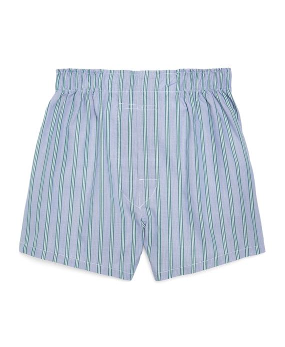 Triple Ground Stripe Boxers Blue