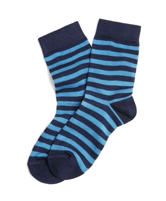Striped Socks Navy