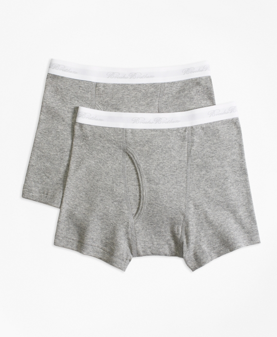 Two-Pack Boxer Briefs Grey