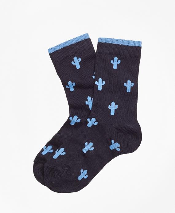 Cactus Print Socks