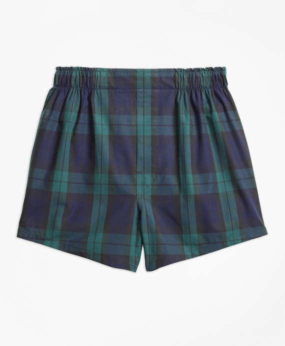 Blackwatch Boxers Navy-Green